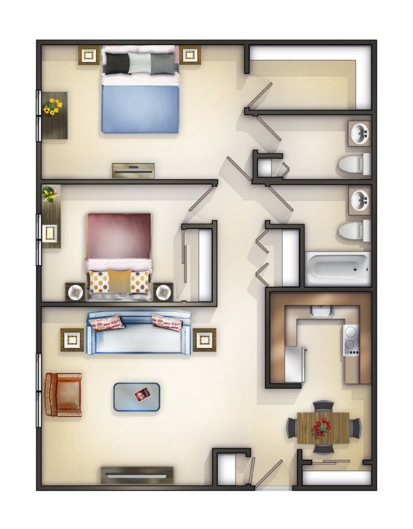 2 bedroom apartments in chicago westside home plan 2 bedroom apartments in chicago for 600